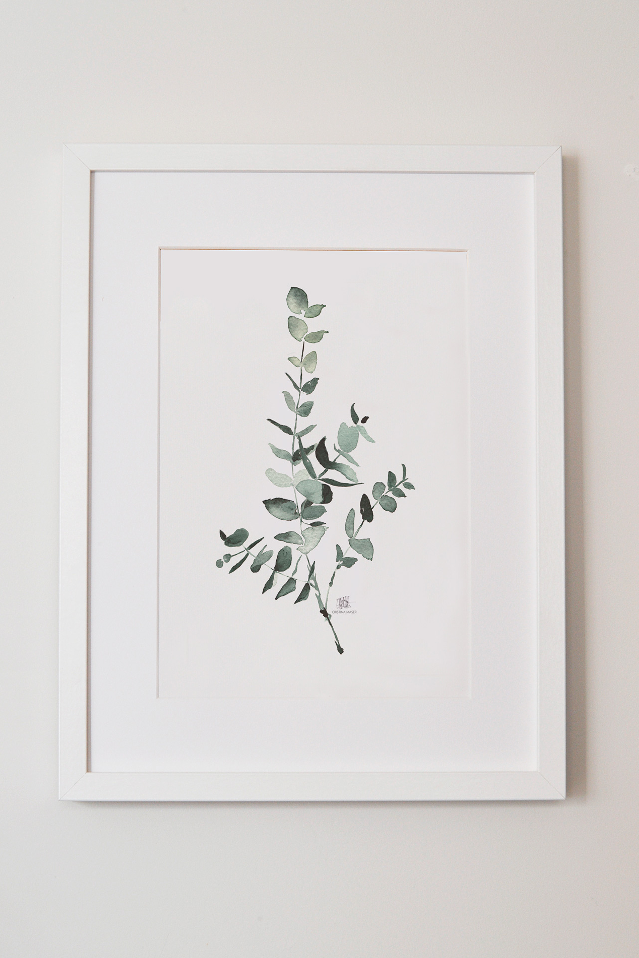 Láminas decorativas botánicas con flores